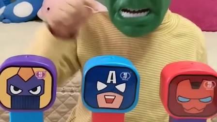 童年的记忆:面具哥哥面前是什么玩具呀