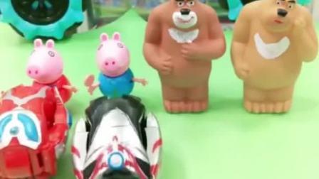 乔治和熊二都有奥特曼了