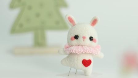 芭蕾兔兔 · 梧桐家羊毛毡 戳戳乐手工制作diy视频教程