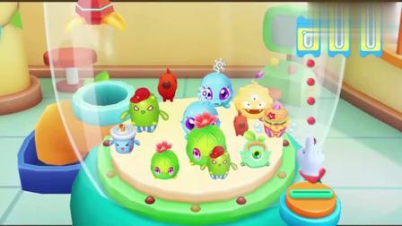 宝宝巴士动画片:互动游戏—宝宝抓娃娃机,益智挑战抓娃娃,足不出户在家也能玩