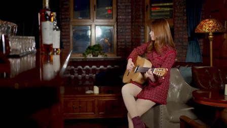 传唱八十年的《玫瑰玫瑰我爱你》老歌,古典吉他独奏版依然动听!