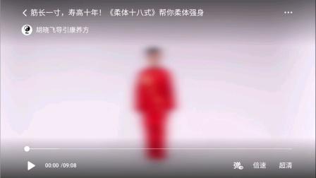 胡晓飞编创《揉体十八式》演示韩小明