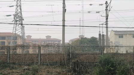 HXD1D0435-K1558次 南宁-上海 接近新余市虎跃路 经典小绿皮 25G宁局南段
