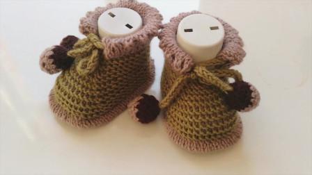 「毛线编织」可爱的小靴子!