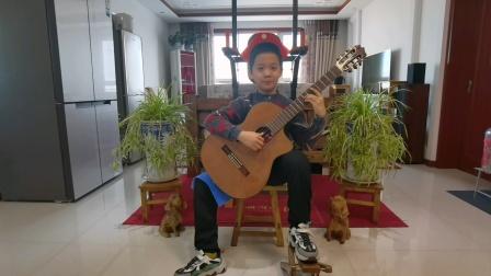 古典吉他独奏《樱花主题变奏曲》李炫宸20210109