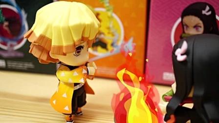 定格动画:用来烤火的寿司!