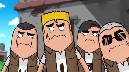 香肠派对:四兄弟玩起躲猫猫模式,最后竟被灵异事件吓得屁滚尿流!