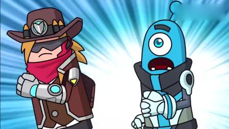香肠派对:外星王子和牛仔脸盲症一起犯了,结局两人惨被暴揍!