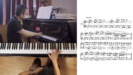 第41讲:《带休止符的乐曲练习》第46首