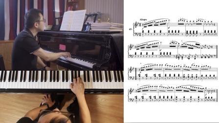 第44讲:《带休止符的乐曲练习》第49首