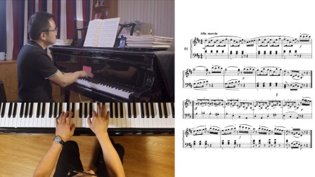 第46讲:《带休止符的乐曲练习》第51首