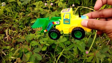 户外寻找工程车小汽车玩具,儿童玩具,车辆玩具