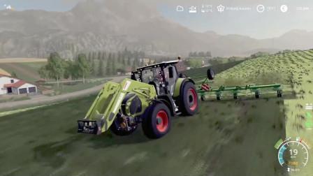 模拟农场19 - 费尔斯布伦 - 收获苜蓿草
