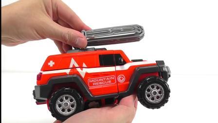 005威震天变形金刚汽车玩具的玩法!