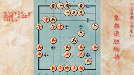 103象棋速胜秘诀 精彩的双车错杀