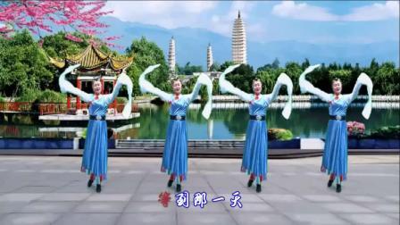 梦中的流星广场舞《最美的情缘》舞蹈:晓茹