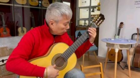 小蒋吉他 托雷士1862鹊眼枫木复克古典吉他