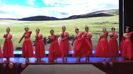 形体舞《可可托海的牧羊人》,小华行走艺术团2021年迎新春庆党建文艺联欢