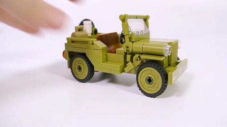拼装特殊卡车模型玩具