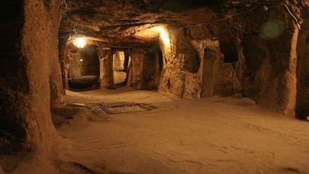 探秘土耳其地下远古城市,建造用途让人疑惑