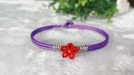 火爆全网的送你一朵小红花手绳编织教程来咯,学会了送给你的闺蜜