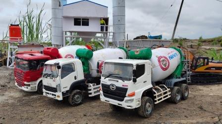 水泥车运输水泥