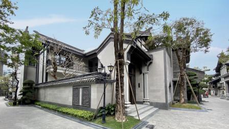 看到这合院还没装修的样子,我就想住了,有点北京四合院的感觉