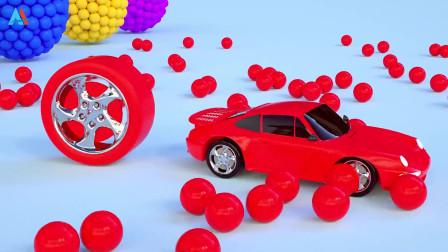 汽车世界之工程车益趣园 第26话 工程车教颜色