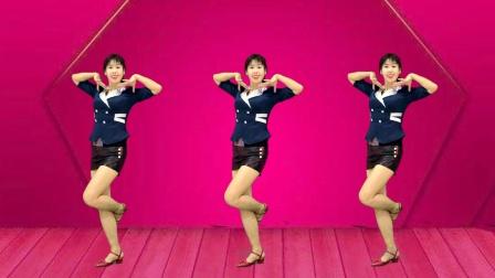 热门网红舞教学《不做痴情人》64步超火,跳出好身材