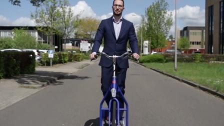 最方便的自行车,减肥上班两不误!