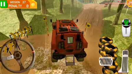 好玩的游戏:驾驶越野车丛林闯关