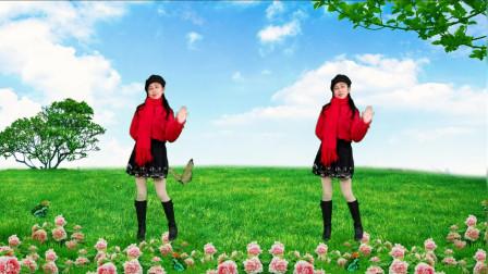 阿群广场舞网红流行抒情柔美32步《最爱的就是你》简单好看
