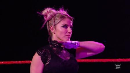 WWE RAW1442期回放-英文原声:小魔女搅局火烧毒蛇双眼