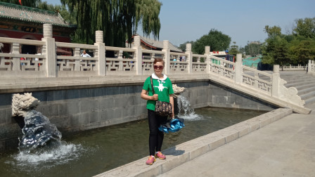 游览距今1630多年的古代晋王祠