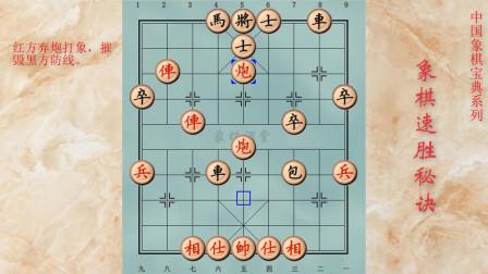 106象棋速胜秘诀 凶猛的重炮攻势