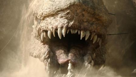 大地忽然震动,原来地下钻着巨型龙兽!