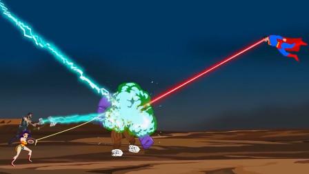 灭霸挑战超人联盟,但是超人联盟人多力量大,灭霸被干掉了!