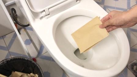 卫生纸应该扔马桶里还是垃圾桶?好多人都想错了,难怪厕所这么臭