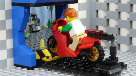 乐高Lego:想痛痛快快的玩一场赛车游戏需要费这么大力气?