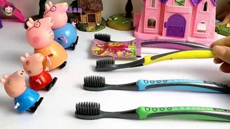 亲子早教儿童:乔治不乖乖刷牙,小朋友们喜欢刷牙吗