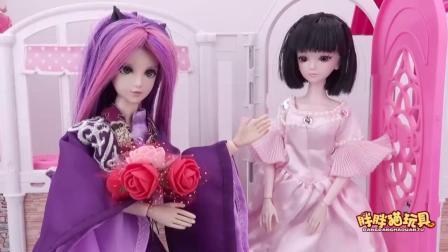 亲子早教儿童:情人节水王子把捡来的玫瑰花送王默,结果很尴尬