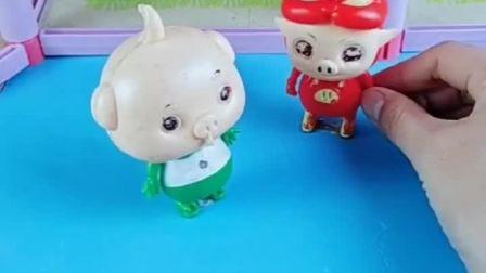 小呆呆教猪猪侠怎么做菠萝