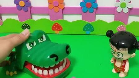 哪吒踩坏了大鳄鱼的正方体