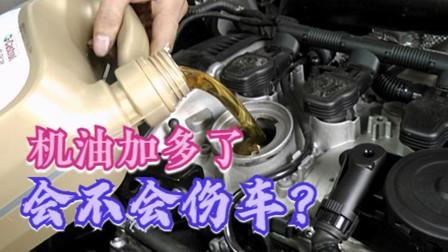 机油加多了对车有什么伤害?没你想的那么简单,新手一定要看好
