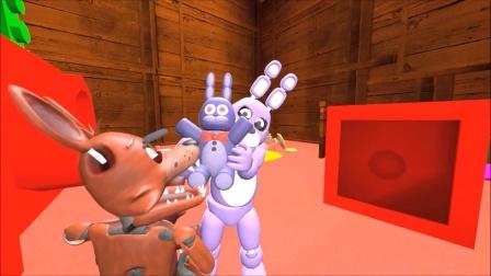 自制五夜后宫动画:狐狸霍斯想吃小兔子!