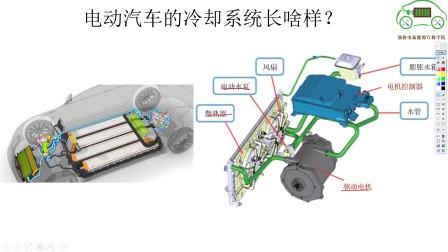 新能源汽车冬天为啥需要冷却?冷却系统长啥样!—电动汽车维修
