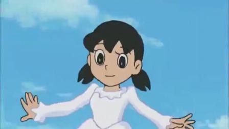 哆啦A梦:大雄敢拿雪球扔胖虎,静香都不敢相信