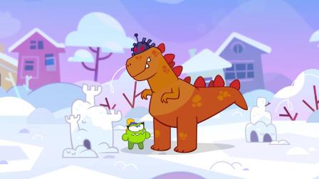 奥姆的故事合集 第010话 超级奥姆之冰雪城堡