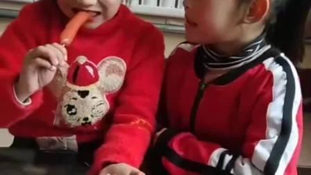 童年的记忆:你不让我吃!我也不让你吃