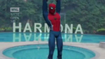 蜘蛛侠的酷飒卡点舞